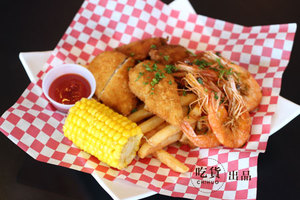 Hot Crab Fried Combo