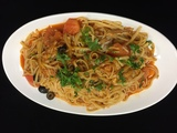 Hot Crab Linguine